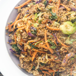 Asian Quinoa and Turkey Stir-Fry.