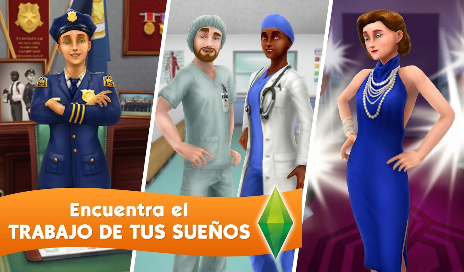 Los Sims™  FreePlay: captura de pantalla