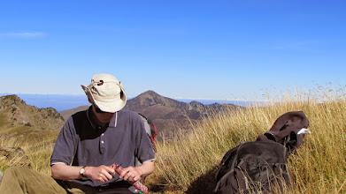 Photo: Posilnění před závěrečným stoupáním na vrchol.