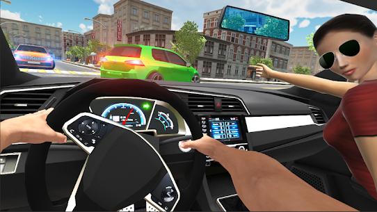 Car Simulator Civic: City Driving Mod Apk (No Ads) 1