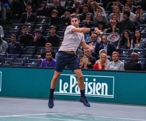 Honderdste titel nog even uitgesteld: Federer sneuvelt tegen toekomstige nummer één in spannende topmatch
