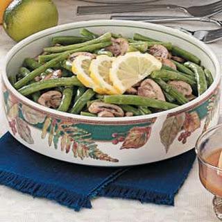 Mushroom Green Beans