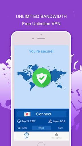 Freedom Best VPN Network Free Fast Unblock Website 2.1 screenshots 3