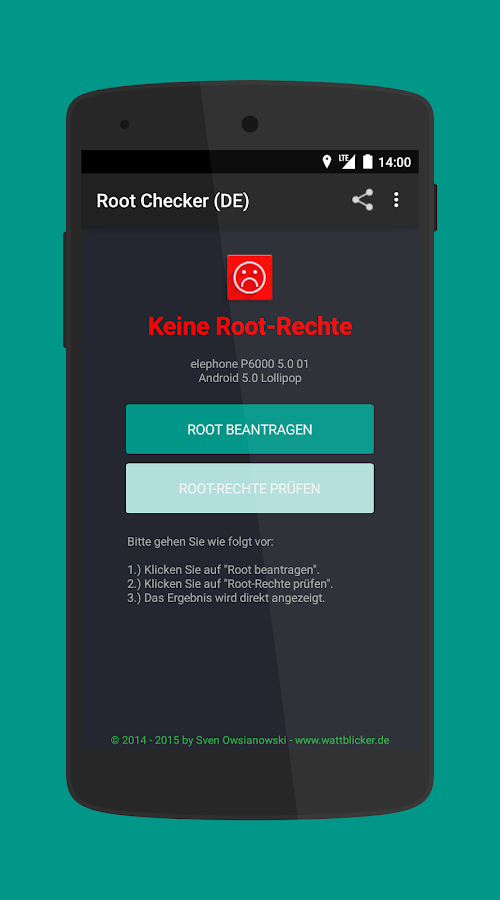 Root-Checker (DE)- screenshot