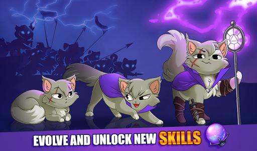 Castle Cats:  Idle Hero RPG 2.2.2 (Mod Money)