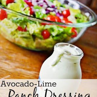Avocado-Lime Ranch Dressing.