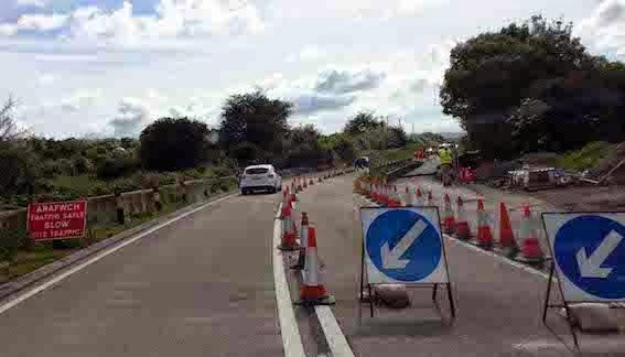 £40million backlog in local highways work