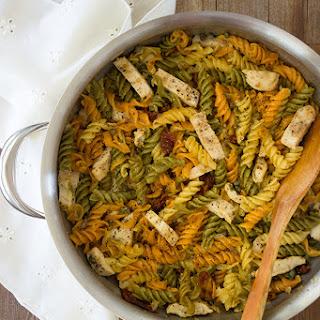 Grilled Chicken Fusilli Pasta Recipe