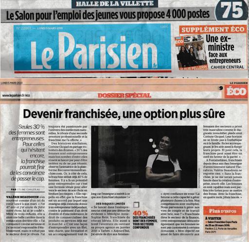 Article Eco dans le PARISIEN