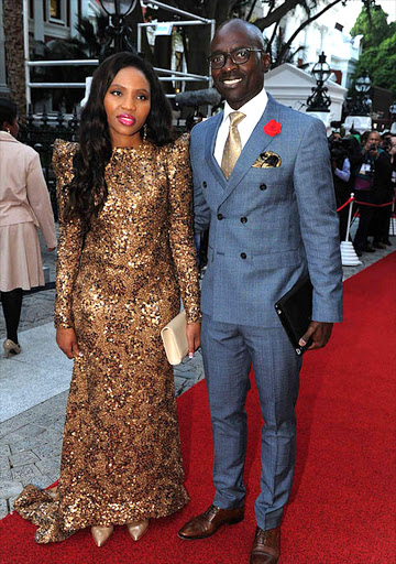 Minister Malusi Gigaba and wife Norma.