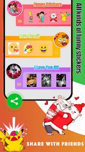 Download Love Sticker for WhatsApp - Emoji & Gif For PC Windows and Mac apk screenshot 2