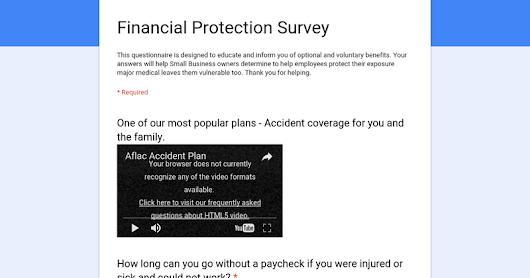 Supplemental Protection Survey