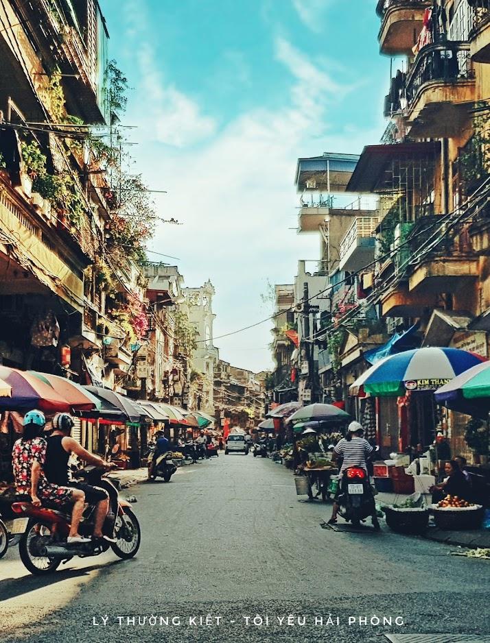 Chụp ảnh phố Lý Thường Kiệt sông Tam Bạc ở Hải Phòng 6