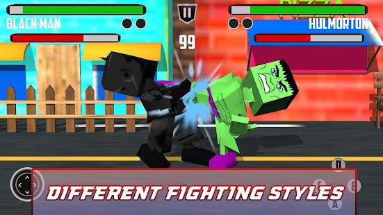 Cubic Pixel Super Hero Fighting Battle 3D 2018 - náhled