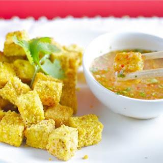 Ayurvedic Lentil Crusted Tofu