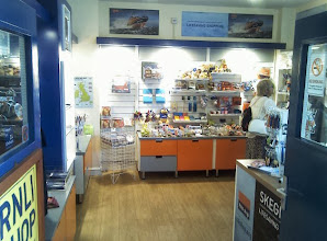 Photo: Just a small charity shop at the beach side of the station selling souvenirs and locally made items.