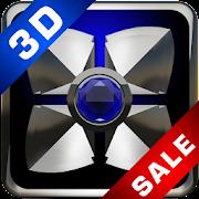 Next Launcher theme Blue Diamo icon