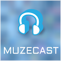 Muzecast Free Music Streamer icon