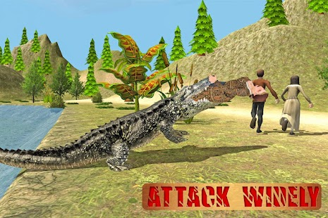 Ultimate Angry Crocodile Sim- screenshot thumbnail
