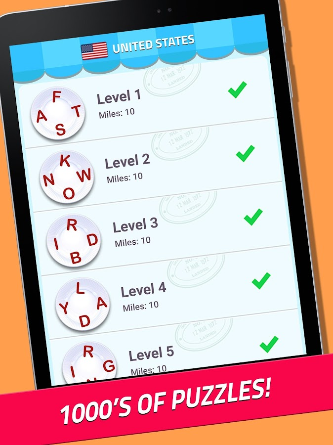 Word Jam: A word search and word guess brain game- screenshot