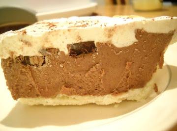 Chocolate Custard Pie Recipe