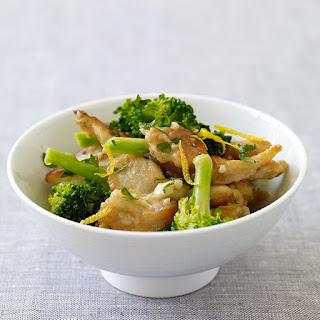 Lemon Chicken with Broccoli.