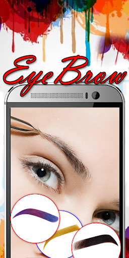 Eyebrow Shaping App - Beauty Makeup Photo  screenshots 6