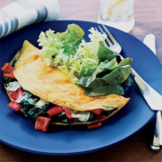 Kitchen-Sink Omelet.