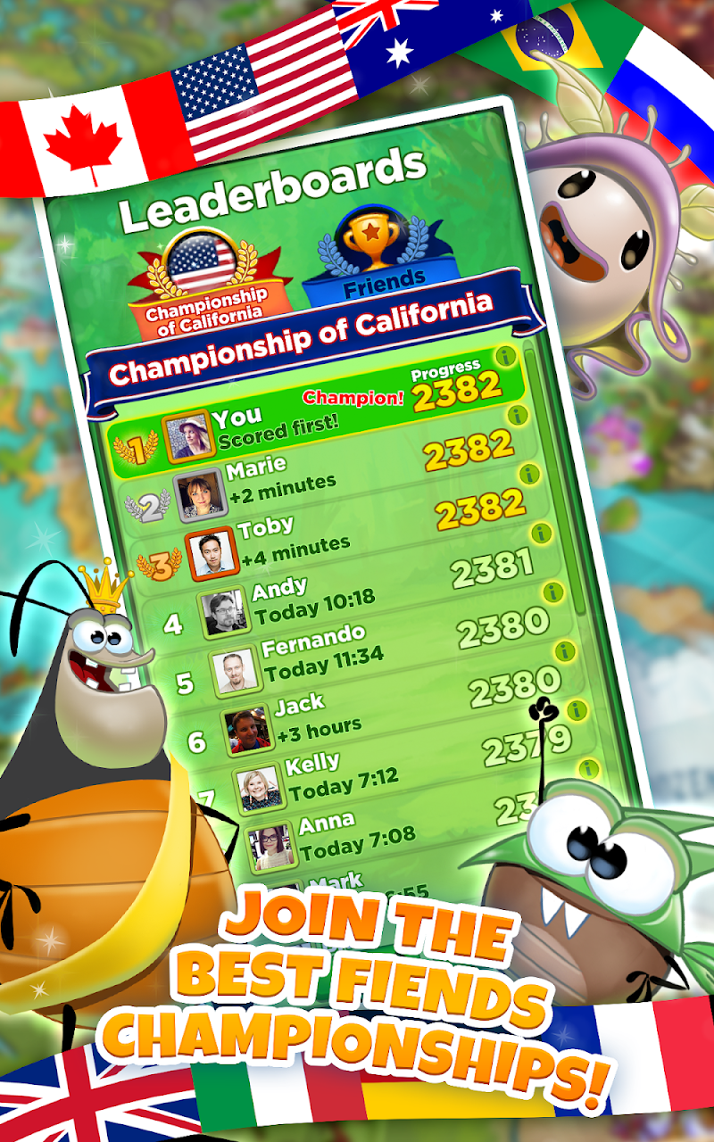 Best Fiends - Free Puzzle Game Screenshot 3