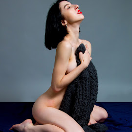 Covered up by Mike Lloyd - Nudes & Boudoir Artistic Nude