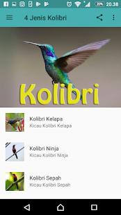 Master Kicau Kolibri 4 Jenis - náhled