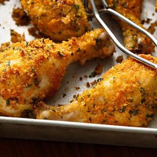 Crunchy Garlic Drumsticks