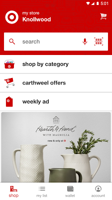 Target - now with Cartwheel - screenshot