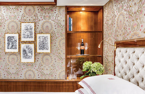 Relax in a finely appointed stateroom board Uniworld's Joie de Vivre.