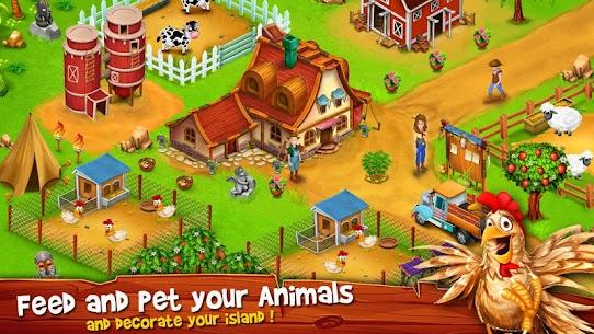 Paradise Hay Farm Island MOD (Unlimited Money) 2