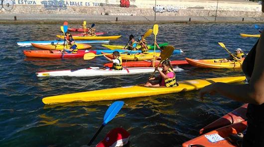 El piragüismo inicia los Juegos Deportivos Municipales