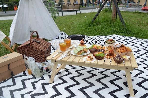 璐露野生活Luluyelife Café~~台北大安區野餐餐廳.提供野餐道具租借.體驗高質感野餐樂趣
