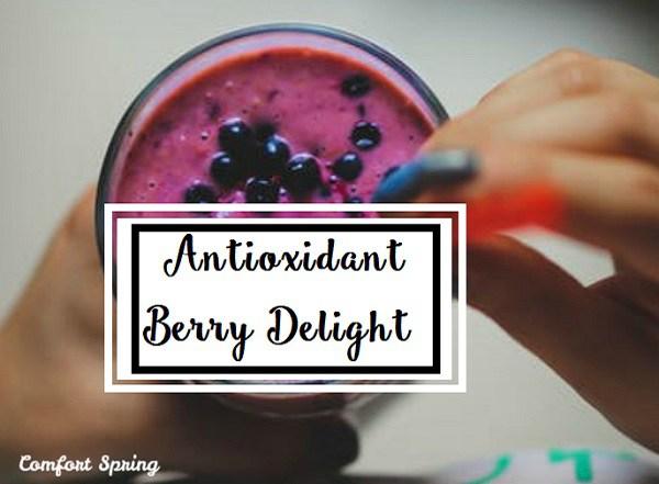 Antioxidant Berry Delight Recipe