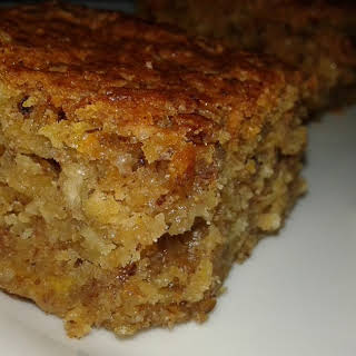 Carrot, Nuts And Apple Cake.