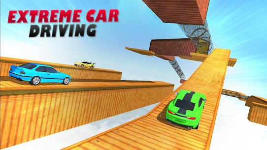 Extreme Car Driving: stunt car games 2020 8