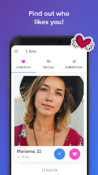 Topface - Dating Meeting Chat! APK screenshot thumbnail 3