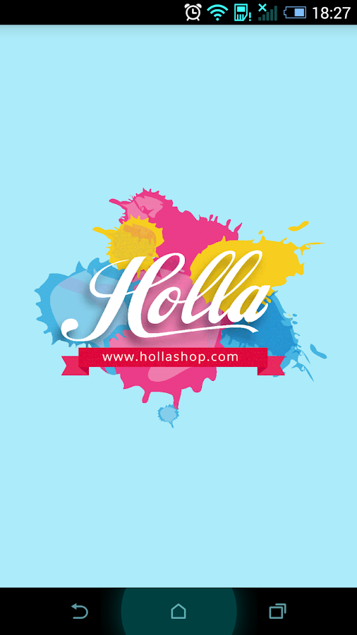 Hollashop- screenshot