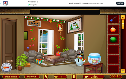 Crazy 100 Rooms - Christmas Santa Celebration- screenshot thumbnail