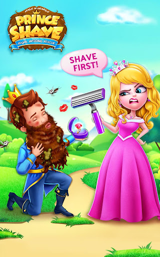 Prince Royal Wedding Shave