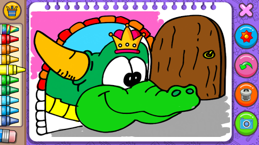 Princess Coloring Book & Games modavailable screenshots 5