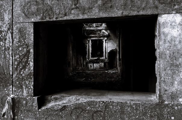 occhio cieco parla col grusci di Giuseppe Paolinelli