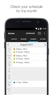 Amion - Physician Calendar- screenshot thumbnail