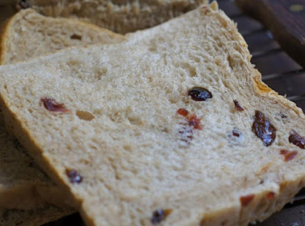 Rich Raisin And Cranberry Loaf (bread Machine) Recipe