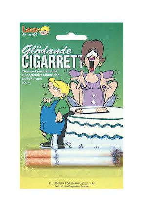 Glödande cigaretter