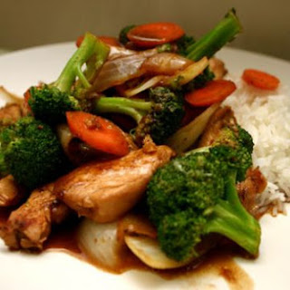 Teriyaki Chicken With Broccoli